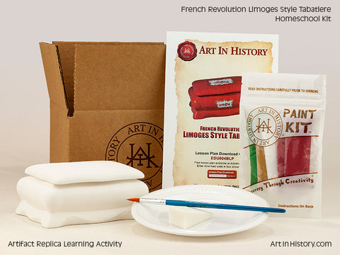 Paint Your Own French Revolution Replica