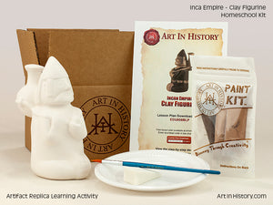 Paint Your Own Inca Figurine Replica