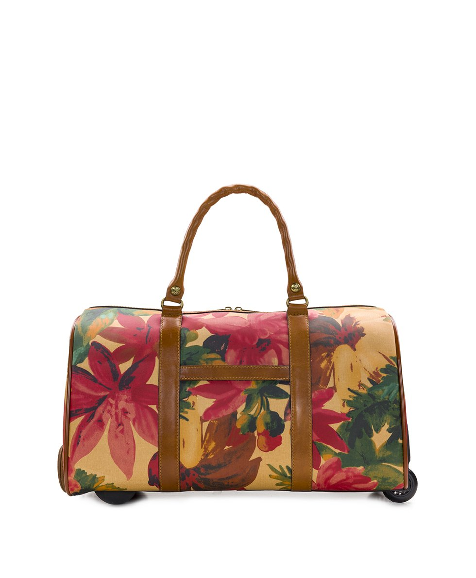 Avola Trolley Duffel - Patina Coated Canvas Spring Multi 2