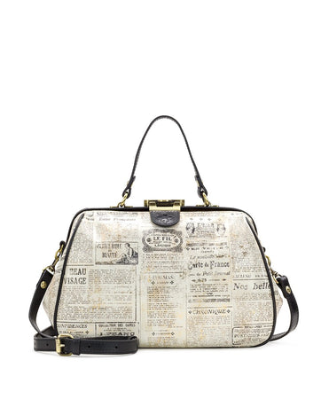 Riva Satchel - Newspaper - Riva Satchel - Newspaper