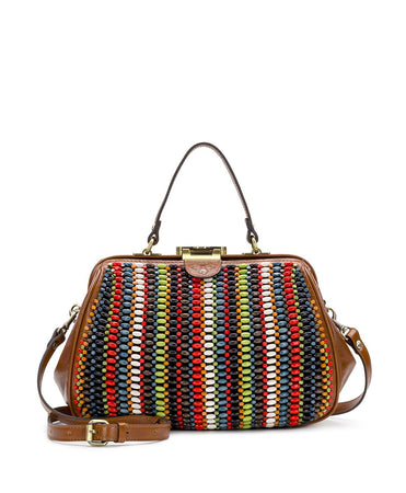 Riva Satchel - Wooden Bead - Riva Satchel - Wooden Bead