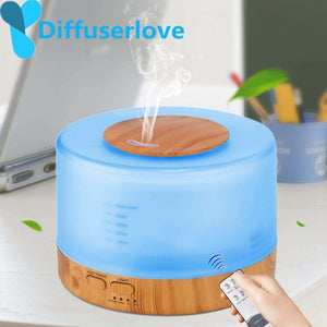 500ml Humidifier Essential Oil Diffuser