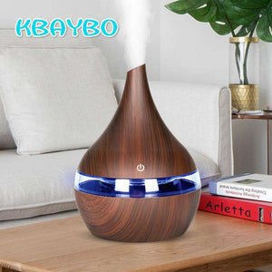 KBAYBO 300ml USB Electric Aroma Diffuser