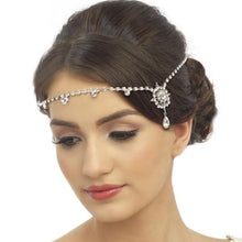 Load image into Gallery viewer, Chantilly Crystal Luxe Bridal Brow Band