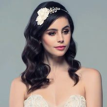 Load image into Gallery viewer, Elsie Extravagance Flower Bridal Headband