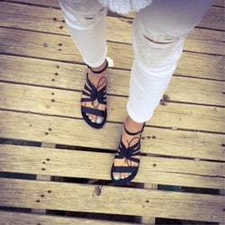 Casual Open Toe Flat Sandals for Women