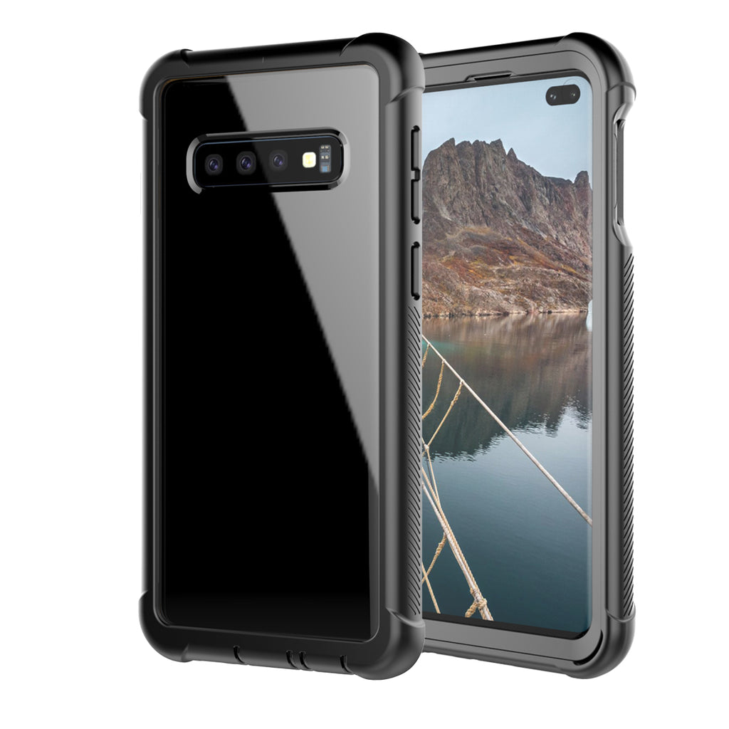 Samsung Galaxy S10 Plus Phone Case Scratch Resistant Clear Hybrid Bumper Case