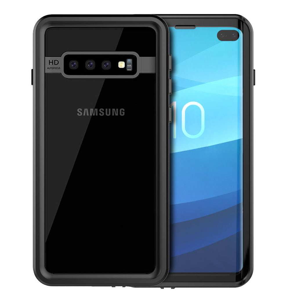 Samsung Galaxy S10+ Waterproof Case with Built in Screen Protector