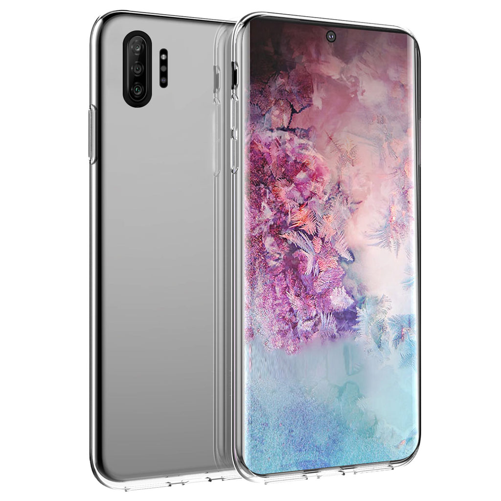 Galaxy Note 10 Plus Case TPU Drop Resistant Crystal Clear Phone Case Clear