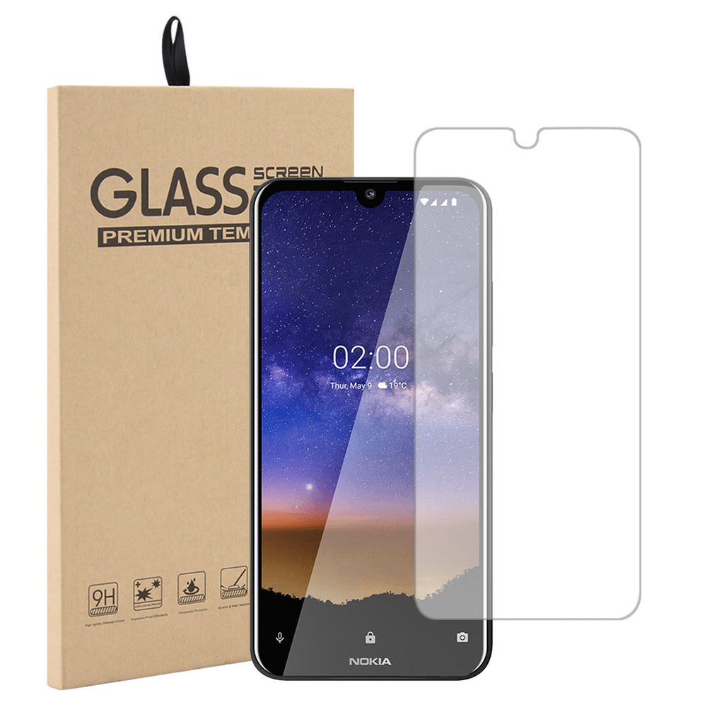 Nokia 2.2 Screen Protector Anti-Fingerprint Tempered Glass Case Friendly 1Pack