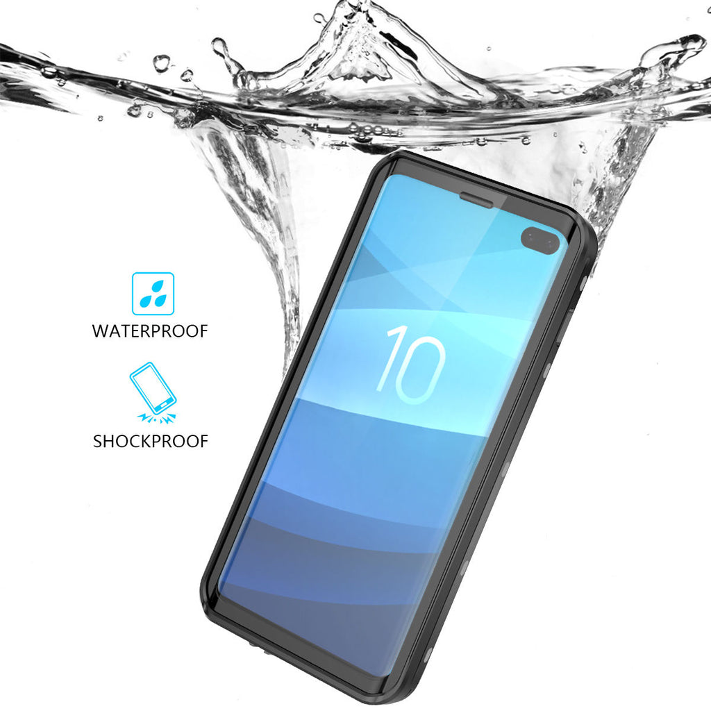 Samsung S10 Plus Waterproof Case Galaxy with Built in Screen Protector