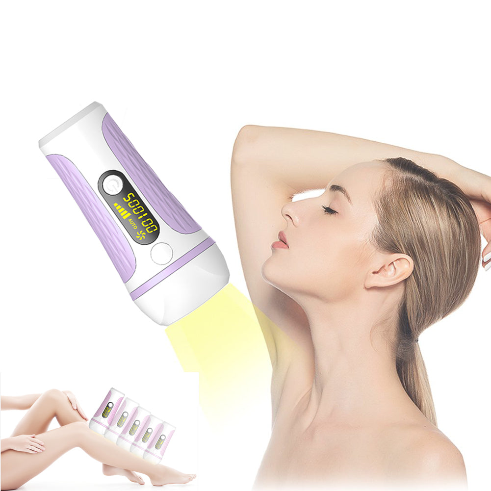 Permanent IPL Hair Removal System 500,000 Flashes Bikini Hair Remover Ladies Shaver EU