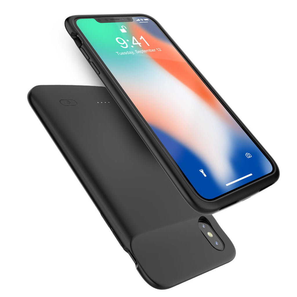 iPhone Xs Max Battery Case Extended Pack Portable Charging Protective Case 5000mah