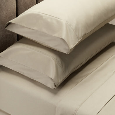Royal Comfort Soft Touch 1000TC Cotton Blend sheet sets Queen - Pebble