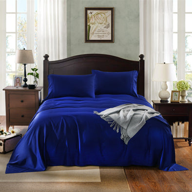 Royal Comfort No Sweat 1000TC 100%  Natural Bamboo sheets -King Indigo
