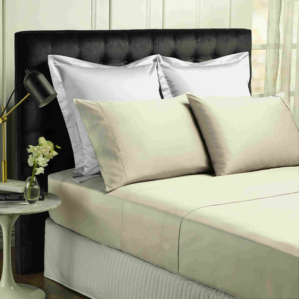 Park Avenue 500 Thread count Cotton Bamboo Sheet sets Double Dove