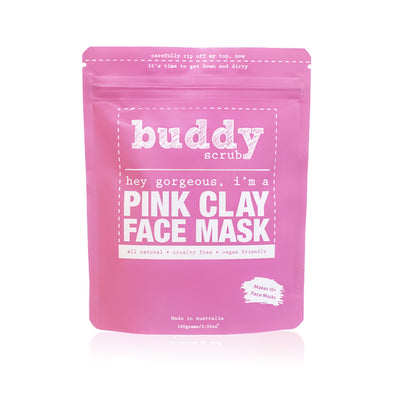 Australian Pink Clay Face Mask - 100g