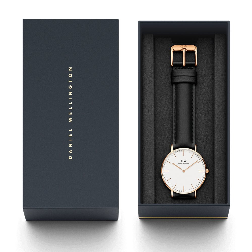 Daniel Wellington CLASSIC 36MM SHEFFIELD Watch [ FREE SHIPPING ]