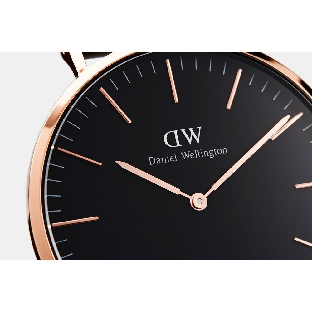 Daniel Wellington CLASSIC BLACK 40MM ST MAWES Watch [ FREE SHIPPING ]