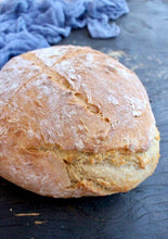 Load image into Gallery viewer, Vegan Rustic Crusty Bread