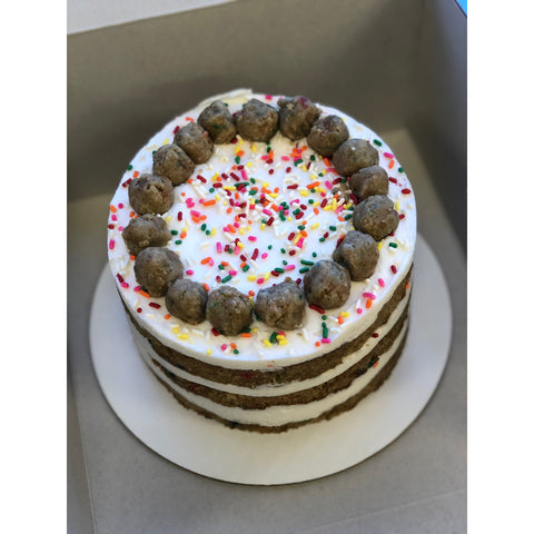 Naked Funfetti Cake (6-inch, 3-layers) *LA & OC delivery & pick-up only*