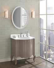 "Load image into Gallery viewer, Fairmont Designs 1534-V30 Belle Fleur 30"" Modern Vanity in Glossy Taupe"