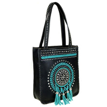 MW448G-8113  Montana West Tribal Collection Concealed Handgun Tote - carriesherself.com