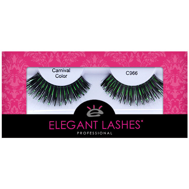 C966 Green Metallic Mix Carnival Color Lash