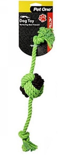 ACTIV ROPE W/ROPE BALL 28CM GR