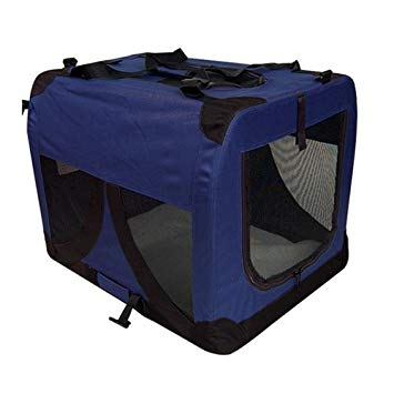 COLLAPSIBLE CRATE XL BLUE