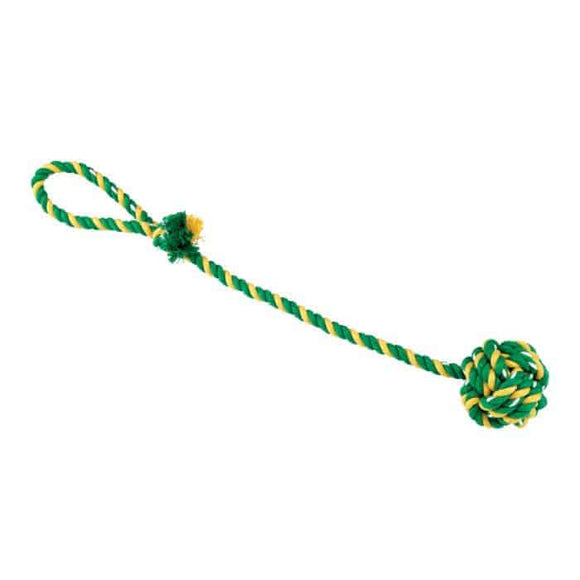 DOG ROPE W/KNOT & HANDLE