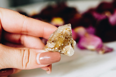 Baby Spirit Quartz Crystal