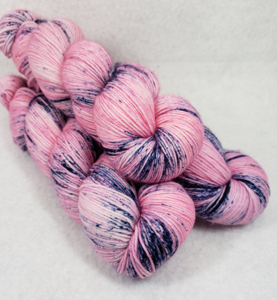 Blueberry Splash - Speckle - MS Sock 100 - Crafting My Chaos