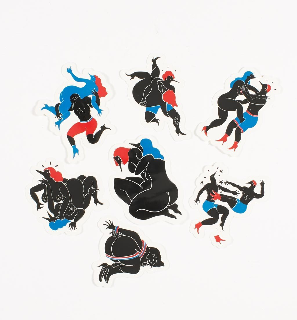 Parra - fight collection sticker pack