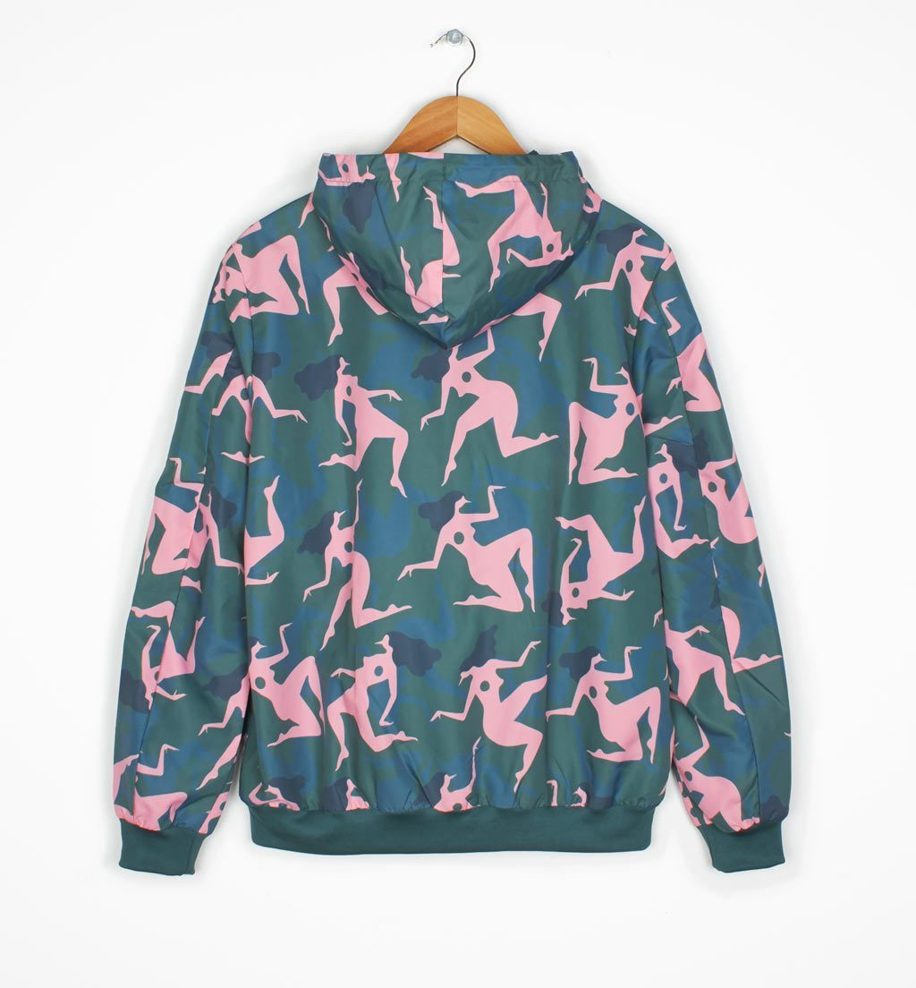 Parra - musical chairs windbreaker