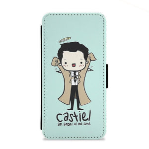 Castiel - Angel of the Lord - Supernatural Flip Wallet Phone Case - Fun Cases