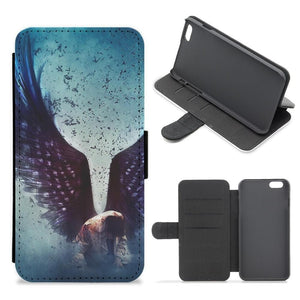 Fallen - Supernatural Flip Wallet Phone Case - Fun Cases