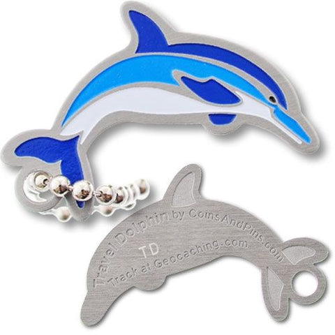 Travel Dolphin Travel Tag