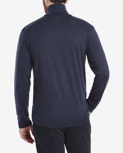 ROLLNECK MERINO JERSEY SWEATER