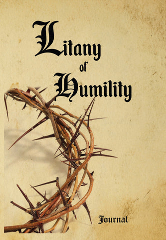 Litany of Humility - 120pg Journal & Prayer (b)