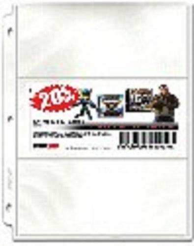 3-Pocket Wide Coupon Pages - Coupon Pages - Hobby Master - hobbymasterstore
