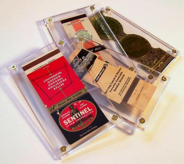 "Screwdown Display Frame 3"" x 5"" - Trading Card Sleeves & Screwdowns - Hobby Master - hobbymasterstore"