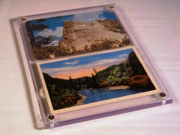 "Screwdown Display Frame 5"" x 7"" - Postcard Sleeves & Frames - Hobby Master - hobbymasterstore"