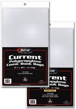 Comic Bags, Current Age - Comic Books - Hobby Master - hobbymasterstore
