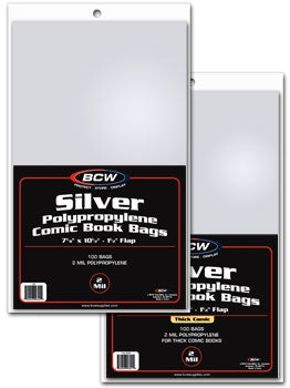 Comic Bags, Silver Age - Comic Books - Hobby Master - hobbymasterstore
