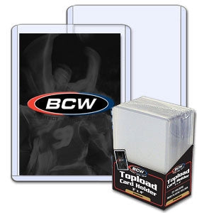 "Rigid Sleeves (Toploaders) 3"" x 4"" for Trading Cards - Trading Card Sleeves & Screwdowns - Hobby Master - hobbymasterstore"