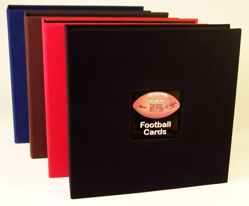 Prestige Linen Football Card Album - Football Card Albums - Hobby Master - hobbymasterstore