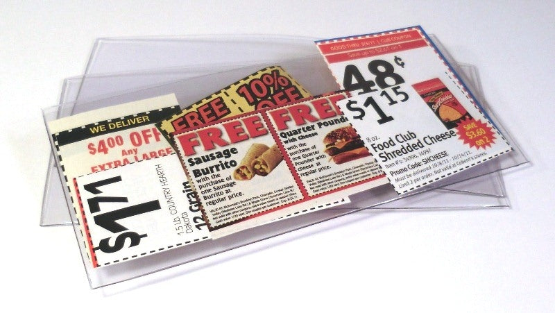 Coupon Sleeve - Wallets & Sleeves - Hobby Master - hobbymasterstore