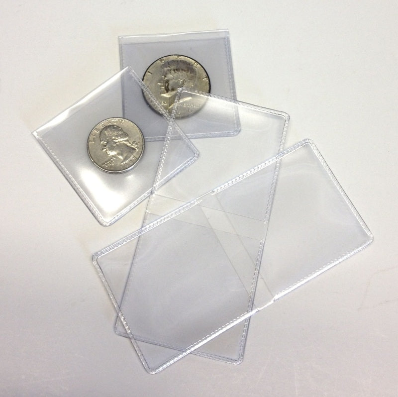 Archival Vinyl Coin Flips with Inserts - Coin & Currency Holders - Hobby Master - hobbymasterstore