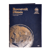 Whitman Coin Folder - Roosevelt Dime #3, starting in 2005 - Coin Folders - Hobby Master - hobbymasterstore